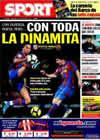 Portada diario Sport del 14 de Febrero de 2010