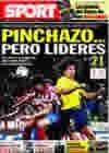 Portada diario Sport del 15 de Febrero de 2010