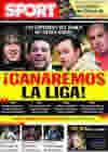 Portada diario Sport del 16 de Febrero de 2010