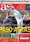 Portada diario AS del 17 de Febrero de 2010