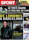 Portada diario Sport del 17 de Febrero de 2010