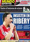 Portada Mundo Deportivo del 17 de Febrero de 2010