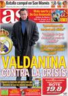 Portada diario AS del 19 de Febrero de 2010