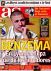 Portada diario AS del 20 de Febrero de 2010