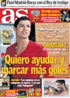 Portada diario AS del 21 de Febrero de 2010