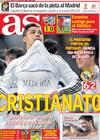 Portada diario AS del 22 de Febrero de 2010