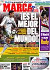Portada diario Marca del 24 de Febrero de 2010
