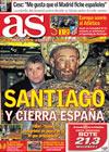 Portada diario AS del 26 de Febrero de 2010