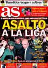 Portada diario AS del 27 de Febrero de 2010
