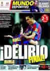 Portada Mundo Deportivo del 28 de Febrero de 2010