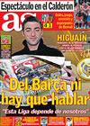 Portada diario AS del 1 de Marzo de 2010