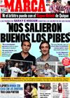 Portada diario Marca del 1 de Marzo de 2010