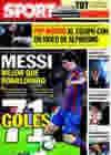 Portada diario Sport del 1 de Marzo de 2010