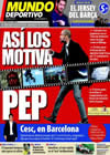 Portada Mundo Deportivo del 1 de Marzo de 2010