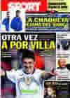 Portada diario Sport del 2 de Marzo de 2010