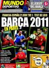 Portada Mundo Deportivo del 3 de Marzo de 2010