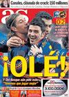 Portada diario AS del 4 de Marzo de 2010