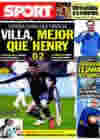 Portada diario Sport del 4 de Marzo de 2010