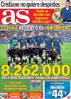 Portada diario AS del 5 de Marzo de 2010