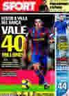 Portada diario Sport del 5 de Marzo de 2010