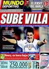 Portada Mundo Deportivo del 5 de Marzo de 2010