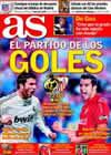 Portada diario AS del 6 de Marzo de 2010