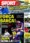 Portada diario Sport del 6 de Marzo de 2010