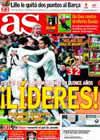Portada diario AS del 7 de Marzo de 2010