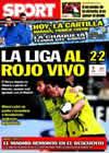 Portada diario Sport del 7 de Marzo de 2010