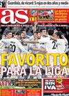 Portada diario AS del 8 de Marzo de 2010