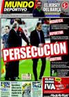 Portada Mundo Deportivo del 8 de Marzo de 2010