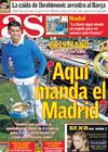 Portada diario AS del 9 de Marzo de 2010