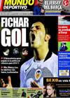 Portada Mundo Deportivo del 9 de Marzo de 2010