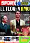 Portada diario Sport del 12 de Marzo de 2010