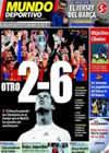 Portada Mundo Deportivo del 12 de Marzo de 2010