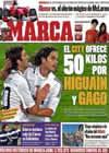 Portada diario Marca del 13 de Marzo de 2010