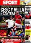Portada diario Sport del 13 de Marzo de 2010