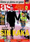Portada diario AS del 14 de Marzo de 2010