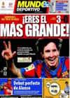 Portada Mundo Deportivo del 15 de Marzo de 2010