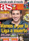 Portada diario AS del 16 de Marzo de 2010