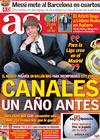 Portada diario AS del 18 de Marzo de 2010