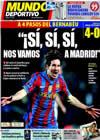 Portada Mundo Deportivo del 18 de Marzo de 2010
