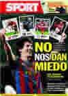Portada diario Sport del 19 de Marzo de 2010