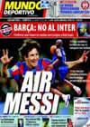 Portada Mundo Deportivo del 19 de Marzo de 2010