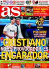 Portada diario AS del 20 de Marzo de 2010