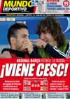 Portada Mundo Deportivo del 20 de Marzo de 2010