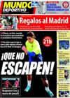 Portada Mundo Deportivo del 21 de Marzo de 2010