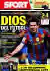 Portada diario Sport del 22 de Marzo de 2010