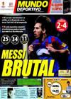 Portada Mundo Deportivo del 22 de Marzo de 2010