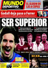 Portada Mundo Deportivo del 23 de Marzo de 2010